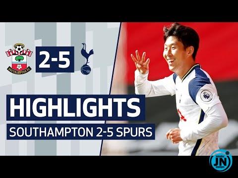 SOUTHAMPTON 2-5 SPURS - Premier League Highlights